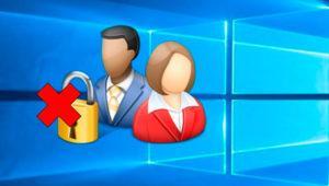 Cómo eliminar la contraseña de usuario en Windows 10