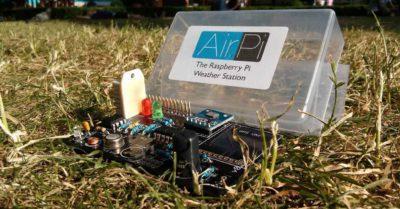 Estación meteorológica con una Raspberry