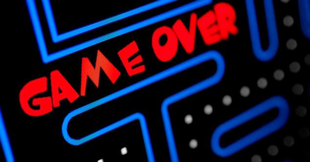 game over videojuego