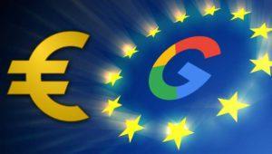 Google recibe una multa récord de 2.420 millones de euros en la Unión Europea