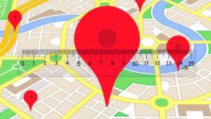 Cómo medir distancias sobre el propio mapa en Google Maps