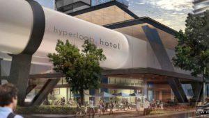 Hyperloop Hotel: viajar entre ciudades dentro de un hotel de lujo