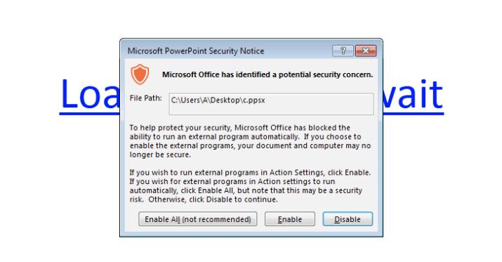 microsoft powerpoint macros-malware