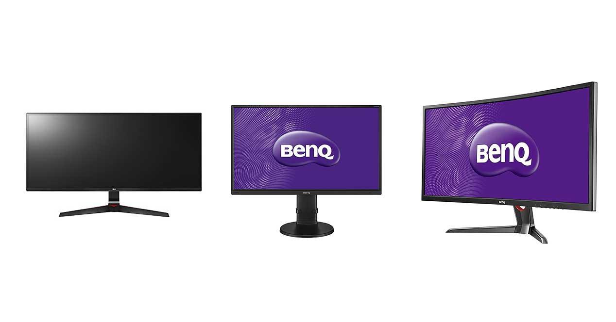 monitores pc baratos amazon
