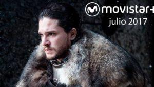 Estrenos Movistar+ julio 2017: nuevas series y películas (también Juego de Tronos)
