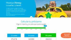 Movistar Money, un nuevo servicio de préstamos online hasta 3000 euros