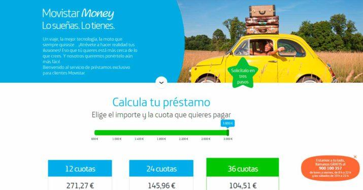 movistar money