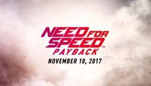 Need for Speed Payback llega en noviembre con mucho más tuning