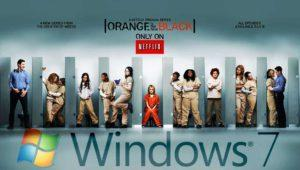 Windows 7 tuvo la culpa del robo de la quinta temporada de Orange Is the New Black