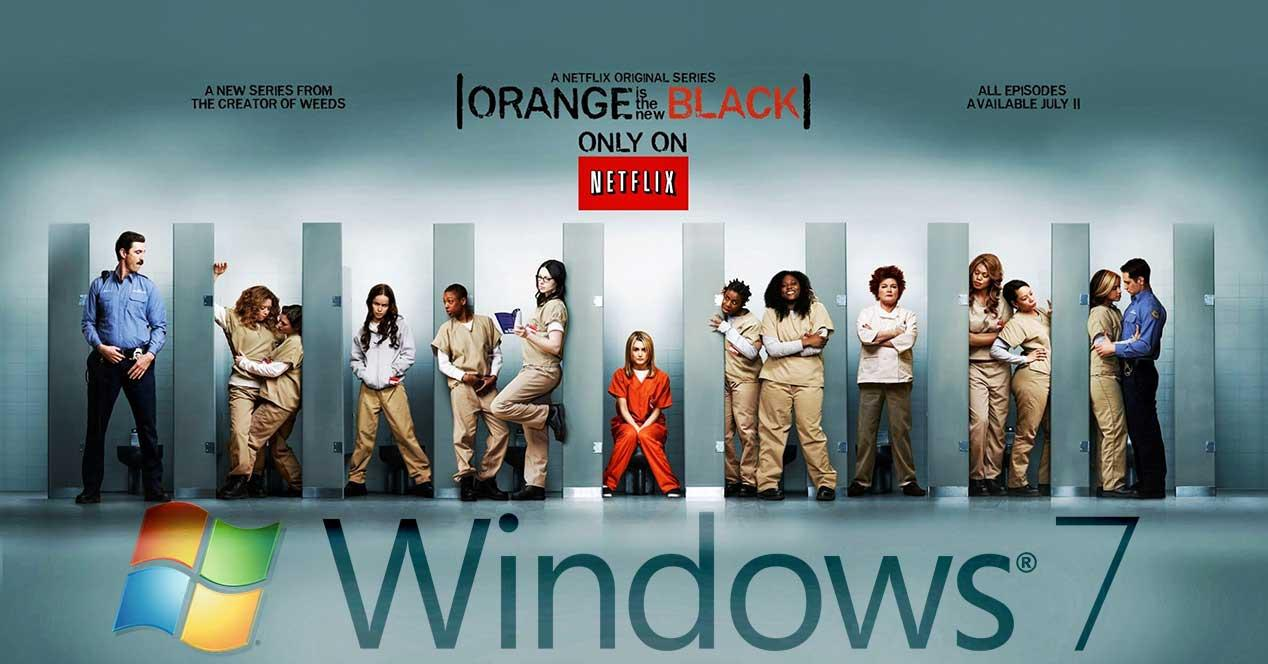 orange is the new black windows 7