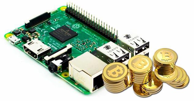 raspberry bitcoin