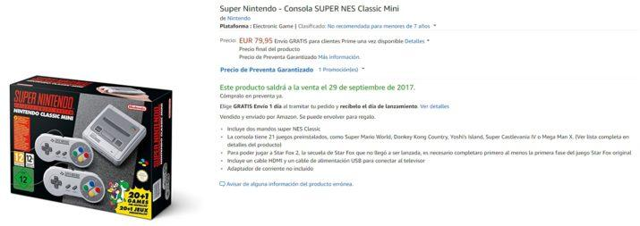 Amazon snes mini