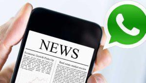 WhatsApp se usa cada vez más como fuente de noticias