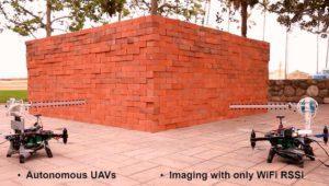 'Entrenan' drones para ver a través de las paredes gracias al WiFi