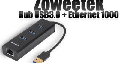 Zoweetek con tres puertos USB en oferta