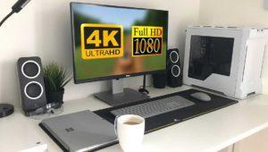 Cómo jugar en 4K en un monitor 1080p