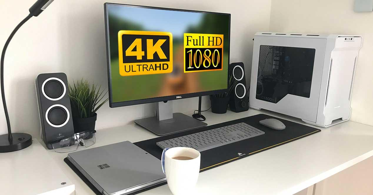 4k monitor full hd 1080p