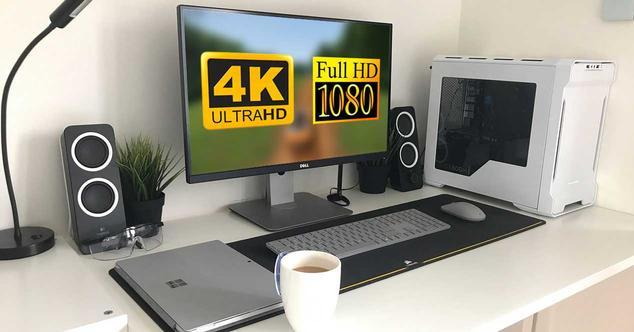 4k monitor full hd 1080p