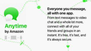 Amazon Anytime ¿otro intento por hacer frente a WhatsApp?