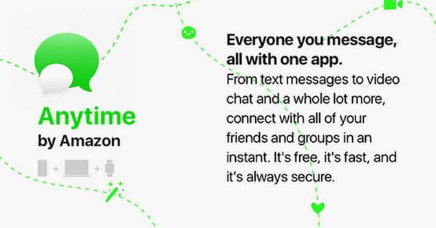 Ver noticia 'Amazon Anytime ¿otro intento por hacer frente a WhatsApp?'