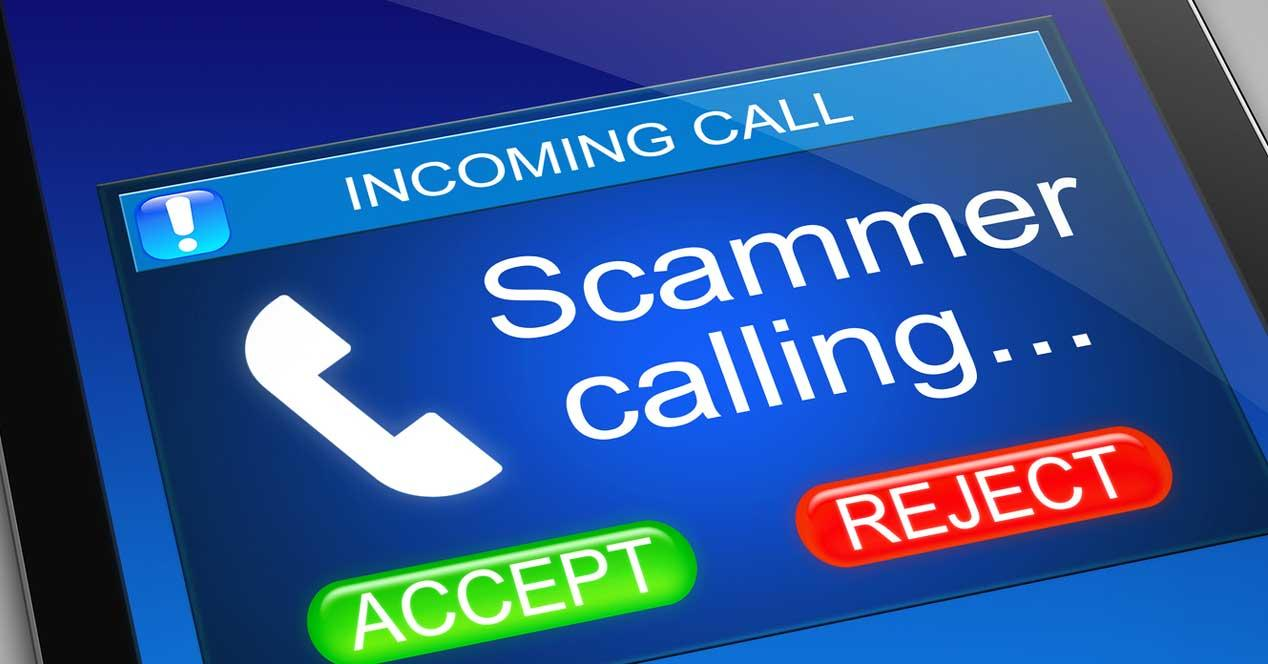 scam caller