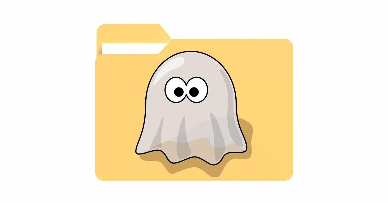 archivo fantasma