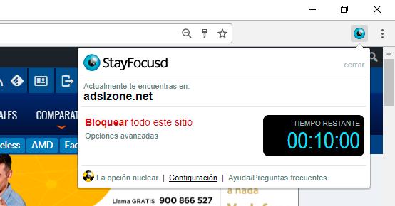 bloquear el acceso a un sitio web
