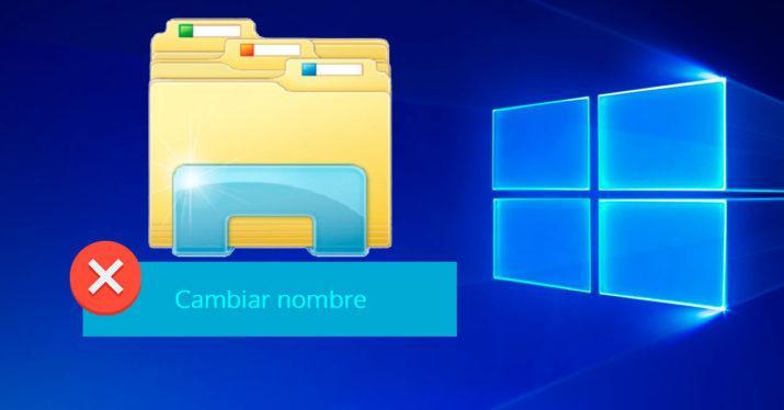 Cómo solucionar el error de Windows que impide cambiar el nombre a una carpeta