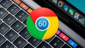 Llega Google Chrome 60 con soporte para Touch Bar en macOS y 40 agujeros de seguridad cerrados