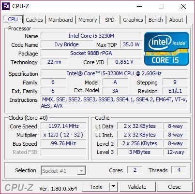 hardware y especificaciones