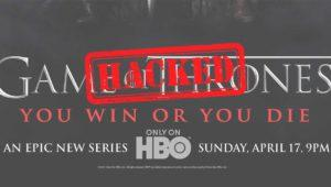 (Actualizado) HBO hackeado: episodios e información de Juego de Tronos supuestamente robada