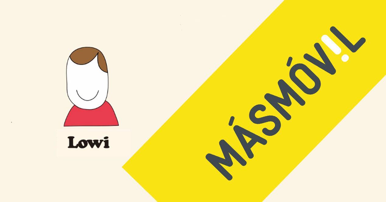 logos de lowi y masmovil