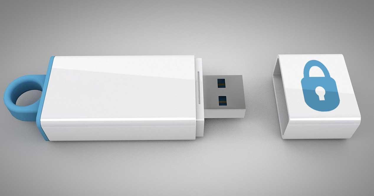 memoria USB seguridad