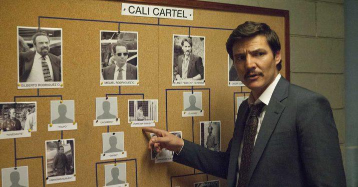 tercera temporada de Narcos pedro pascal