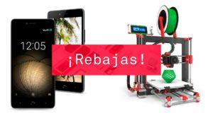 Rebajas BQ de verano, el mejor momento para comprar móviles, impresoras 3D y más