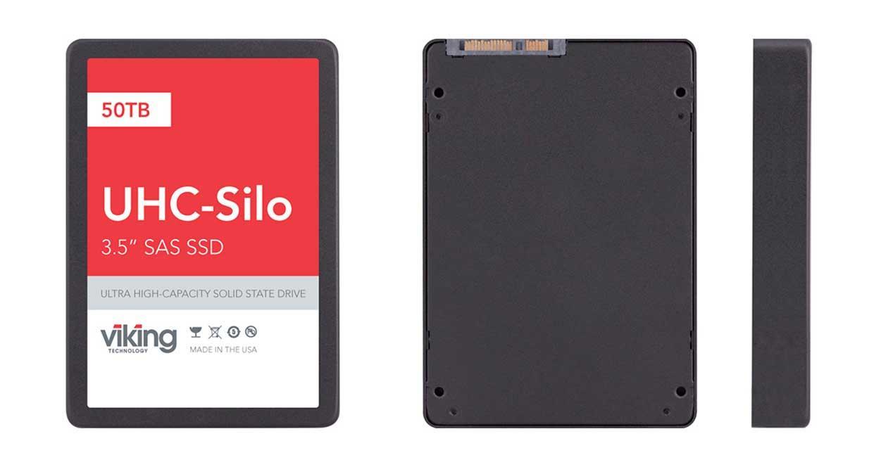 50 TB: este es el SSD de mayor capacidad del mercado