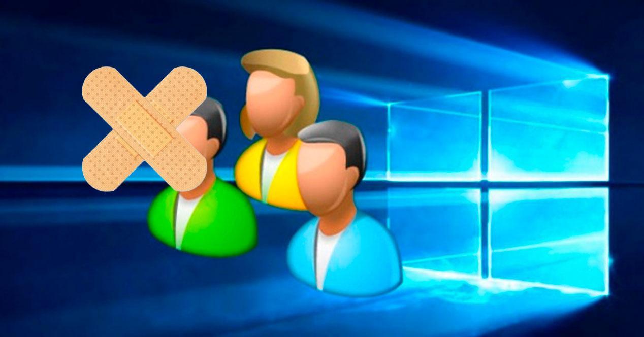 perfil de usuario dañado en Windows
