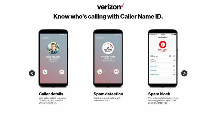 verizon spam