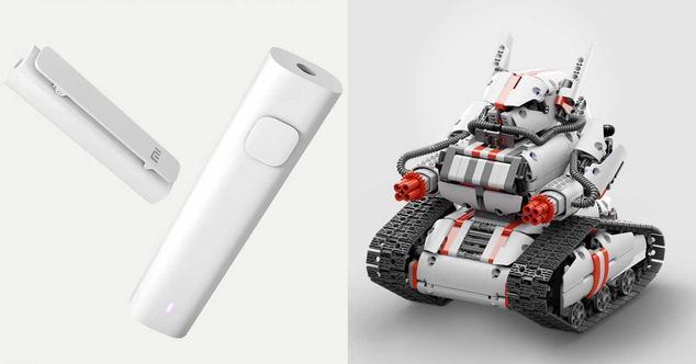 Ver noticia 'Xiaomi lanza un receptor Bluetooth y un robot barato controlable con el móvil'