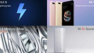 Xiaomi Mi 5X y Mi AI Speaker: móvil gama media premium y altavoz inteligente