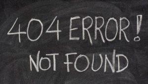 Qué es el Error 404, consecuencias y cómo resolverlo
