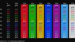 La consola de Windows cambia su paleta de colores despues de 20 años