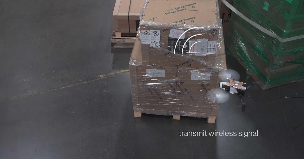 drone-almacén