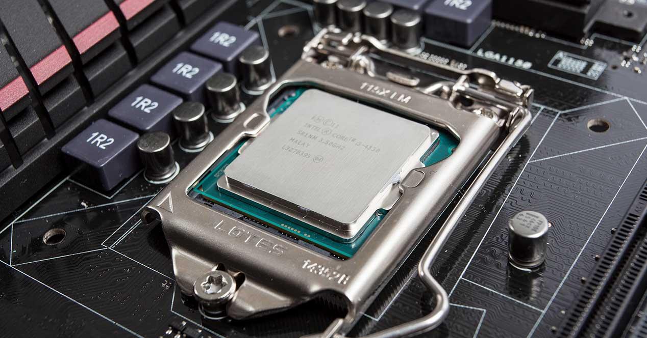 intel procesador placa base