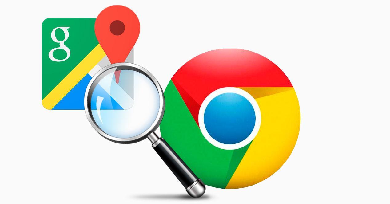 google maps en chrome