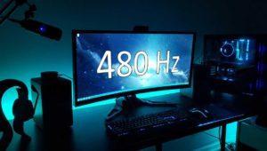 Afirman que el ojo humano ve diferencias entre un monitor de 240 y 480 Hz