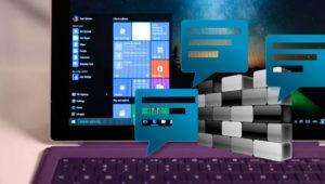 Cómo dejar de recibir notificaciones de Windows Defender y el Firewall de Windows 10