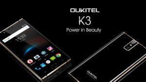 OUKITEL K3, un smartphone elegante con batería de 6000 mAh y 4GB de RAM