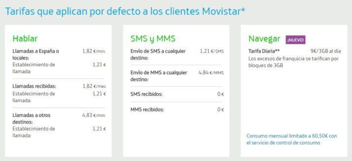 Movistar roaming