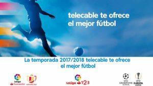 Ya conocemos los precios del fútbol en Telecable con adiós al Partidazo